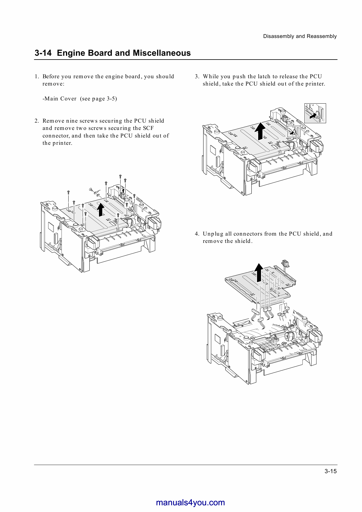 Samsung Laser-Printer SS-1400 Parts and Service Manual